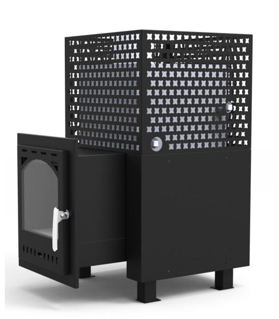 Poêle à bois pour sauna extérieur - PK2